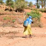 The Water Project: Ilandi Community -  Carrying Water