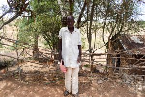 The Water Project:  Ivuka Shg Member Ezekiel Mutiso
