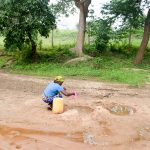 The Water Project: Kivandini Community A -  Current Water Source