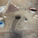 The Water Project: Kitonki Community A -  Inside A Latrine