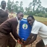 The Water Project: Womulalu Secondary School -  Handwashing Station