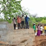 The Water Project: Maluvyu Community B -  Finished Sand Dam Construction