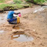 The Water Project: Kivandini Community -  Fetching Water
