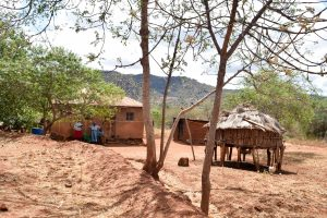 The Water Project:  Mwende Household