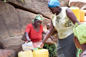 The Water Project:  Sieving Dirt Out Of The Water