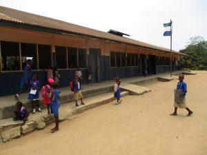 The Water Project:  Students Outside Classrooms
