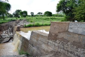 The Water Project:  Sand Dam