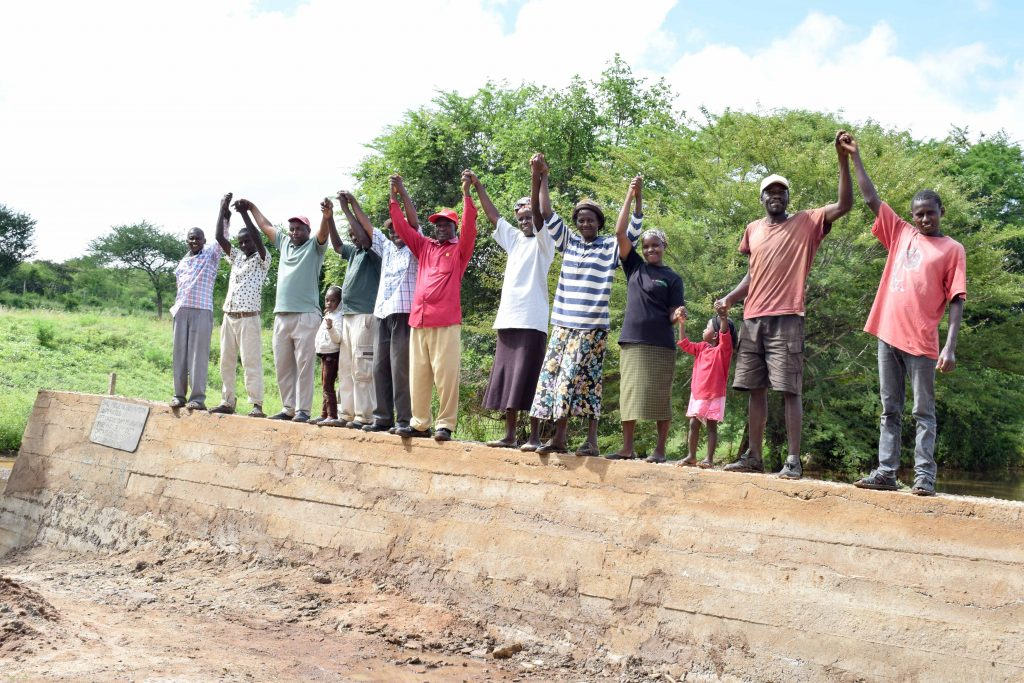 The Water Project : 32-kenya18173-sand-dam