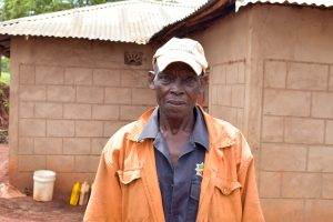 The Water Project:  Kyambasa Shg Member Musinga Musau
