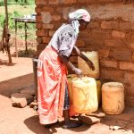 The Water Project: Mbuuni Community C -  Water Containers