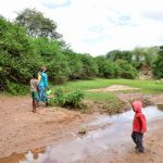 The Water Project: Kitandini Community A -  River Environment