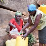 The Water Project: Utuneni Community A -  Sieving Out The Dirt