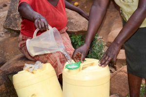 The Water Project:  Sieving Dirt