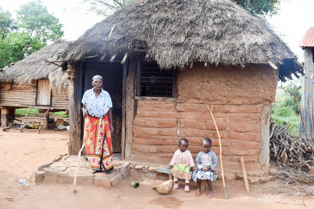 The Water Project : 5-kenya18171-mutunga-kitchen