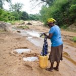 The Water Project: Kivandini Community A -  Carrying Water