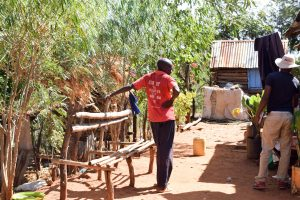 The Water Project:  Interviewing The Mumbua Household