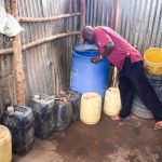 The Water Project: Katuluni Community C -  Water Containers