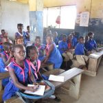 The Water Project: St. John RC Primary School -  Students In Class