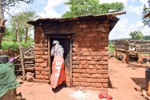 The Water Project:  Mrs Mutua At Her Kitchen