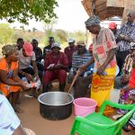 The Water Project: Maluvyu Community B -  Training On Making Soap