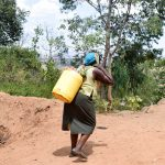 The Water Project: Utuneni Community -  Carrying Water