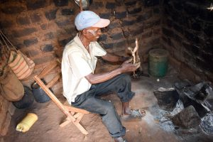 The Water Project:  Mr Mbalu In His Kitchen
