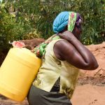 The Water Project: Utuneni Community A -  Carrying Water Home