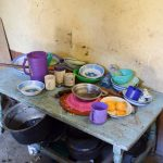 The Water Project: Kyetonye Community A -  Dishes