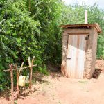 The Water Project: Mbuuni Community D -  Latrine