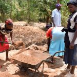 The Water Project: Mbuuni Community D -  Sand Dam Construction