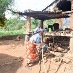 The Water Project: Maluvyu Community B -  Using A Dish Rack