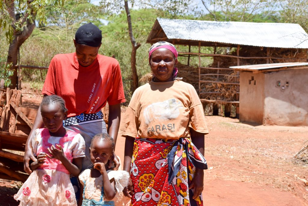 The Water Project : 8-kenya18183-esther-and-her-family