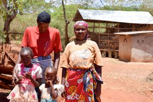 The Water Project:  Esther And Her Family