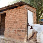 The Water Project: Kyetonye Community -  Latrine