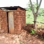 The Water Project: Mbuuni Community C -  Latrine