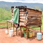 The Water Project: Kitandini Community A -  Dish Rack