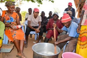The Water Project:  Training On Making Soap