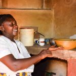 The Water Project: Masola Community A -  Mrs Mumbua In Kitchen