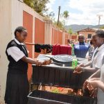 The Water Project: Kaani Lions Secondary School -  Handwashing Training
