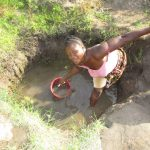 The Water Project: Targrin Community -  Fetching Water