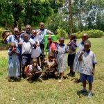 The Water Project: Imuliru Primary School -  New Handwashing Station