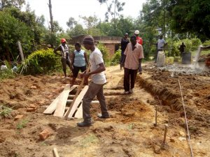 The Water Project:  Preparing Site For New Latrines