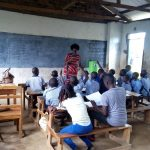 The Water Project: Imuliru Primary School -  Students Listen To Trainer