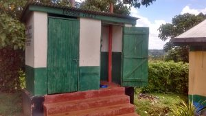 The Water Project:  Ecosaan Latrines At The School