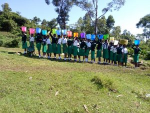 The Water Project:  Lined Up With Water Buckets