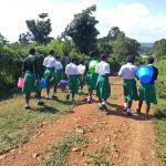The Water Project: ACK Milimani Girls' Secondary School -  Walking To Collect Water