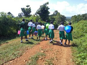 The Water Project:  Walking To Collect Water