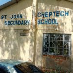 The Water Project: St. John Cheptech Secondary School -  School Name