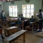 The Water Project: St. John Cheptech Secondary School -  Students In Class