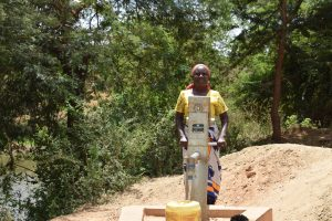 The Water Project:  First Completed Well